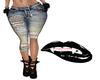 Cozy CutOff Jeans Rl