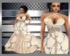 BMXXL: Cream Glam Gown