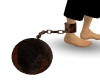 Rusted Ball and Chain