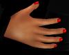 (AL)Red Nails Short
