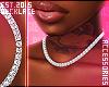в. 40k Diamond Necklace