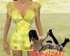 *Pretty Summer Dress Yel