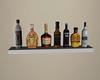 White Liquor Shelf