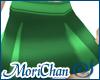 Box Pleated Skirt Mint