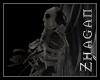 [Z] Skeleton Parrot blk