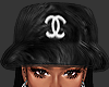 ღ CC Black Bucket Hat