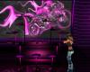 Neon club bar