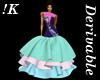 !K!Delure Fishtail Gown