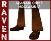 ABANAKI CHIEF MOCCASINS!
