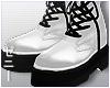 Z. White boots