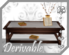 ~AK~ Coffee Table +Books