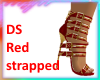 DS Red strapped heels