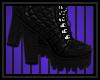 Black Hard Boots
