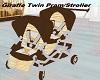 Brown Twin Pram/Stroller