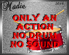 Drum Action no Sound