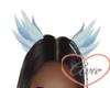 Feather Ears Blue Sparkl