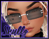 💀 |Cari Glasses-Black