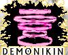 Pink Fire Rings DJ Light