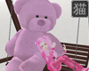 Teddy Bear Swing pink