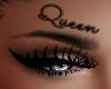 Queen Face Tattoo