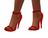 Red Party Heels