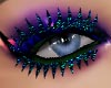 glitter lash blue