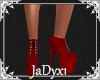 Platform Sneakers - Red