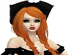 Copper Hair Black Hat