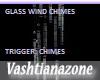V-GLASS WIND CHIMES