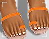 ṩJae Sandals Orange