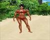 Hot Red Bikini