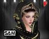 Arab Hijab Black 2