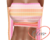 Mini Top Pink Stripe