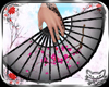 ! Geisha Fan PinkBlk