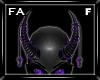 (FA)ChainHornsF Purp