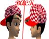 [Z]Checkered Flippin hat