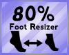Foot Scaler 80%