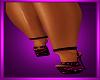 Black &PinkVersace Heels
