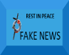 RIP: Fake News sticker