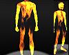 burning fire body [M]