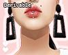 D| Earrings Geometric