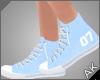 ~AK~ Varsity Shoe: Blue
