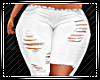 White Ripped Jeans RL