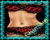 Sexy Red Cheetah Bikini