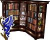 Wooden Corner Bookshelf