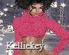 Winter Pink Top