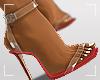 ṩEsha Heels Red