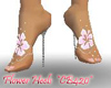 Hawaiian Flower Heels