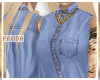 ♀| Denim Blu 2 | Shirt