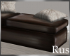 Rus Leather Bench